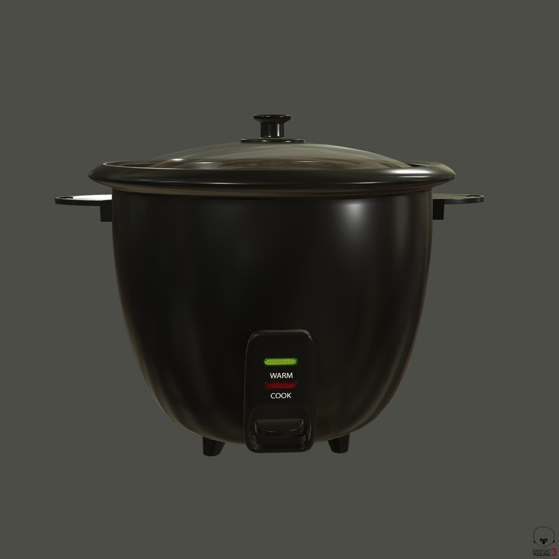 3D cooker appliances model
