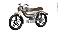 electric puch magnum monza 3D model