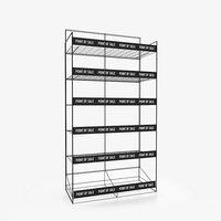 display rack 3D model