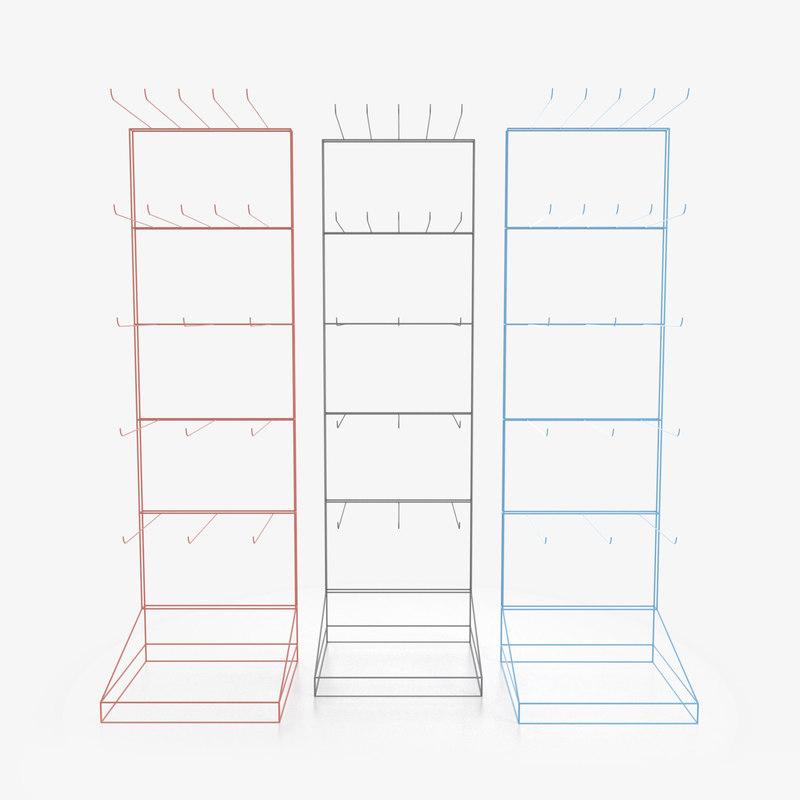 display rack model