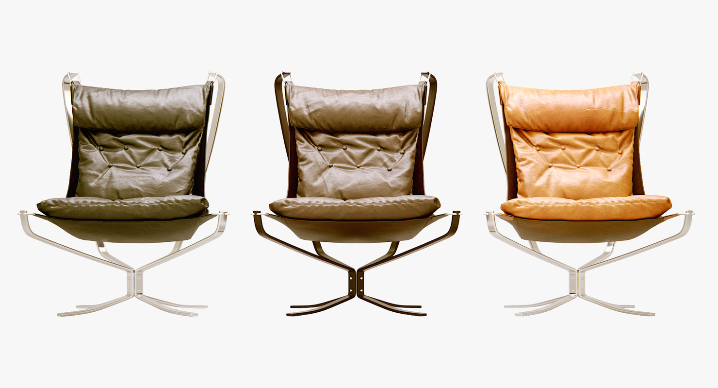 3D model sigurd ressell falcon chair