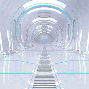 corridor modular 3D model
