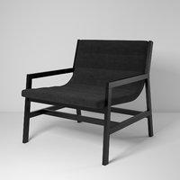 3D spanst chair