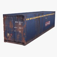 3D container model