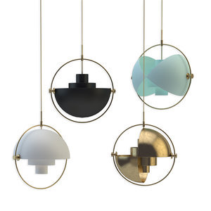 3D gubi multi-lite pendant