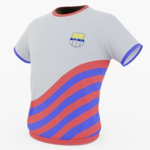 jersey uniform generic 3D