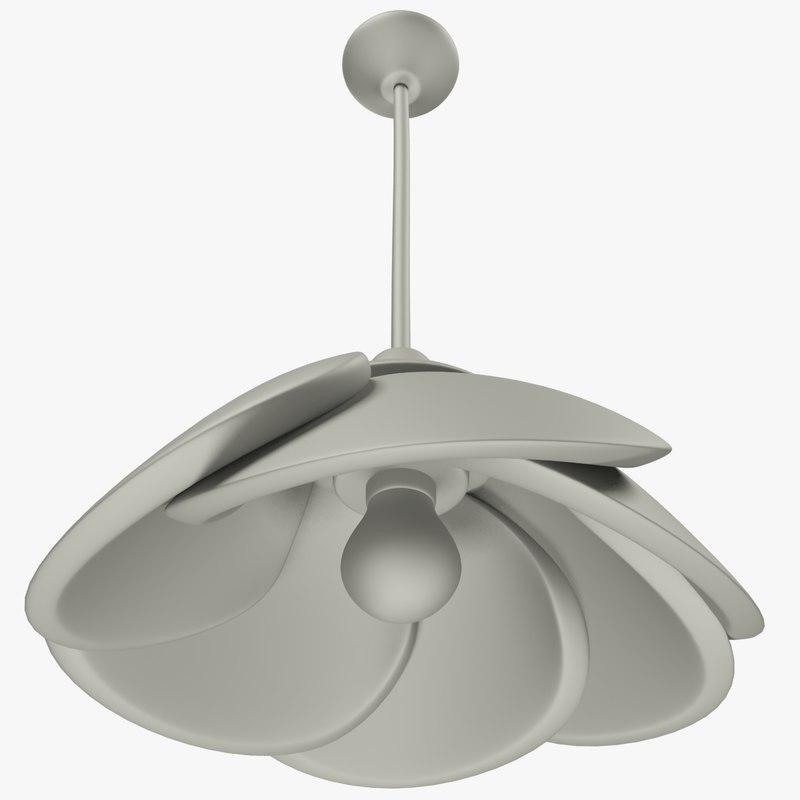 3D simple chandelier
