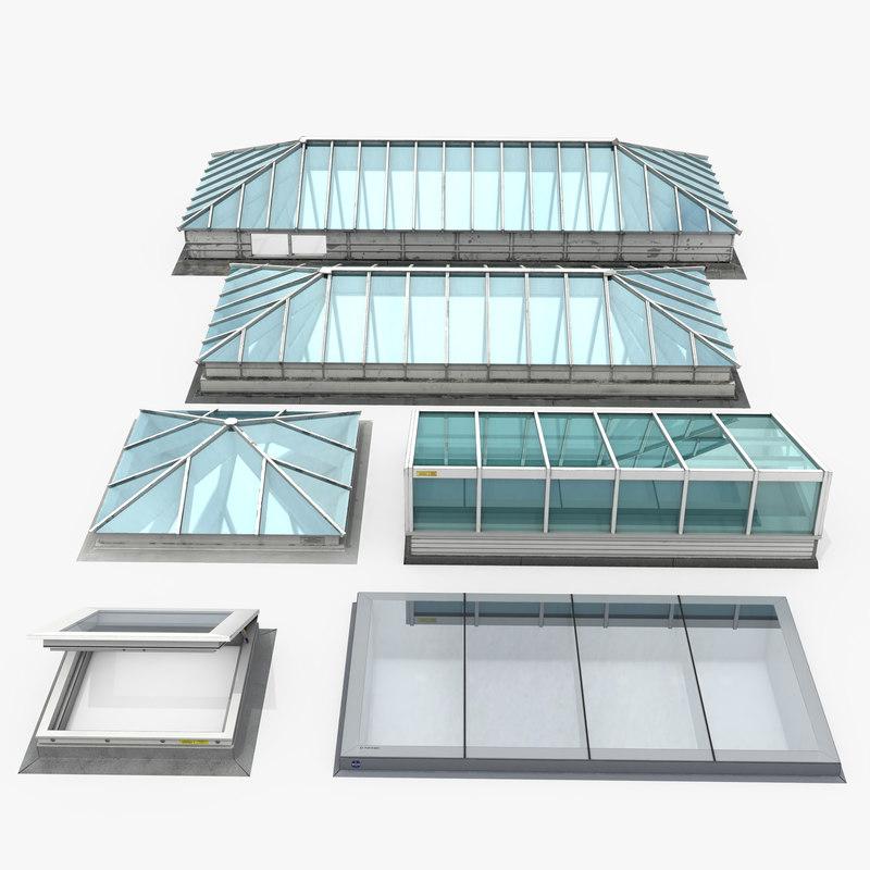 rooftop skylights model