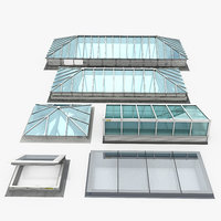 rooftop skylights model