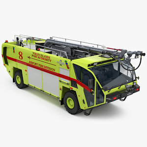 oshkosh striker 4x4 airport 3D