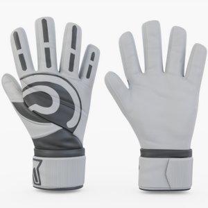 gloves goalie goal 3D