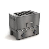 commercial kitchen toaster 3D