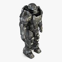 3D fallout armor model