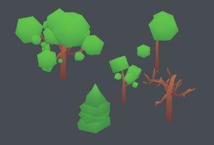 trees pack model