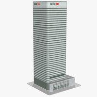 hsbc tower london 3D model