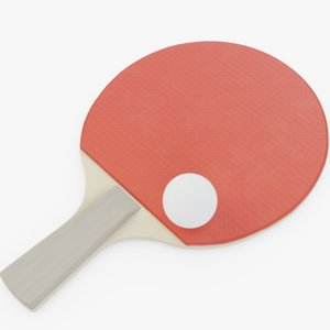 table tennis paddle model