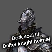 3D helmet dark souls 3