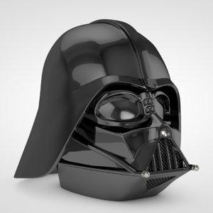 darth vader helmet 3D