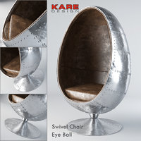 Kare Swivel Eye Ball Chair