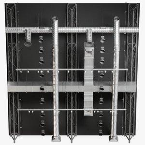 ceiling ventilation 12 3D model