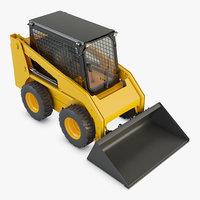 3D skid steer loader
