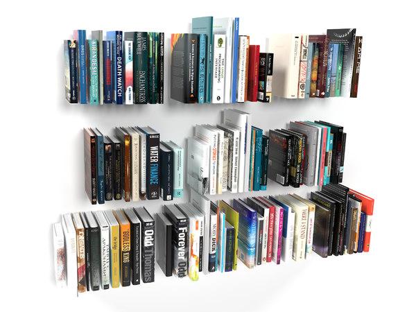 3D model 100 books