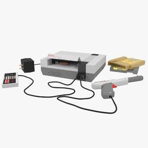 console nintendo 3D model