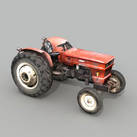 3D tractor real time model