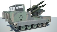 sam m48 chapparal model