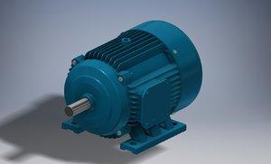 motor ac 3D model