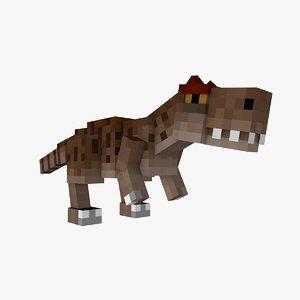 fossils archeology allosaurus mod 3D