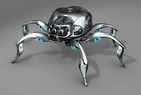 mechanical spider model