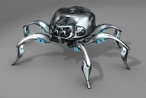 mechanical spider model