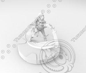 mobile game 3D model