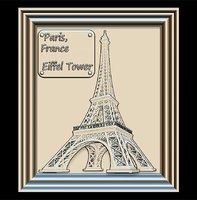 eiffel tower panno stl file model