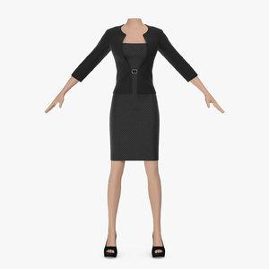 dress jacket 3D model