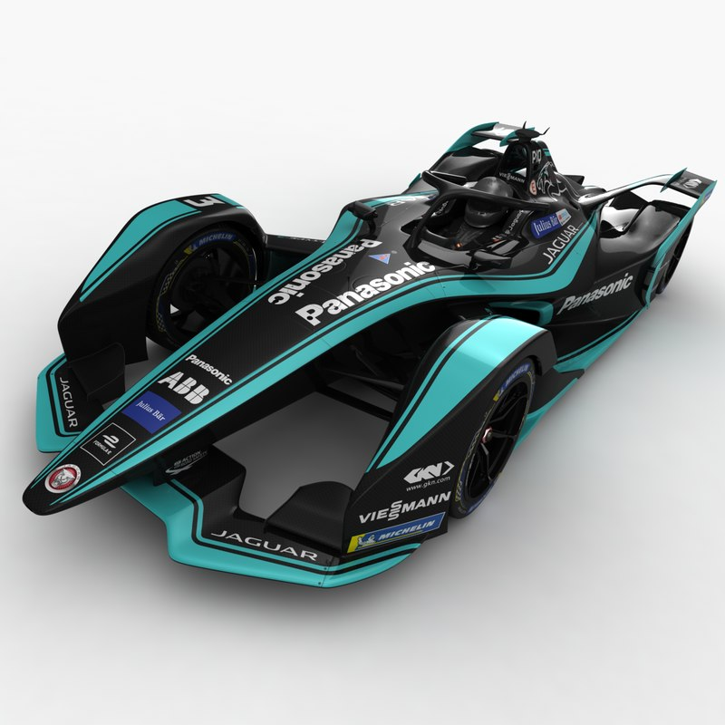 3D formula e race season model