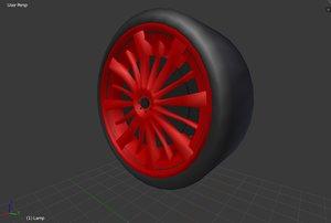wheels 3D