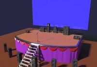 stage scene