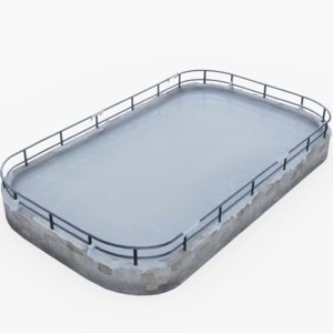ice pbr 3D model