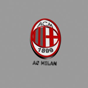 3D football logo