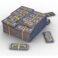 million dollars 3D model