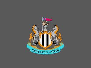newcastle united logo 3D model