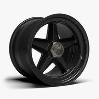 rsr centerlock wheel 3D model