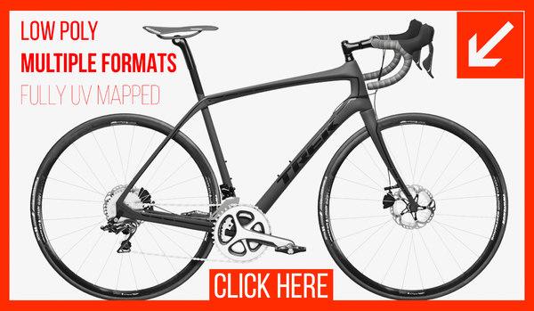 3D model bike cycles