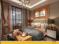modern concise bedroom 2015 3D