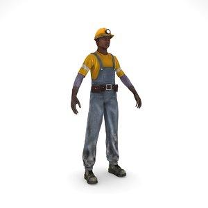 workman work 3D