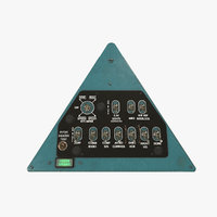 Mi-8MT Mi-17MT Right Triangular Panels Board English