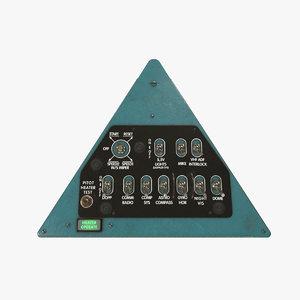 right triangular panels board 3D model