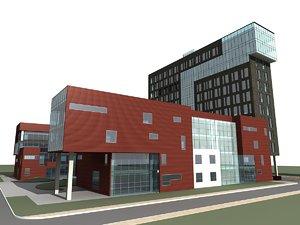 3D apartments architectural